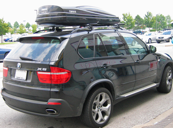 2008 Bmw X5 Cross Bars