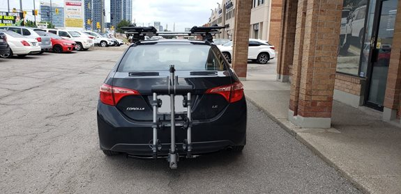 Toyota Corolla 4dr Water Sport Racks installation