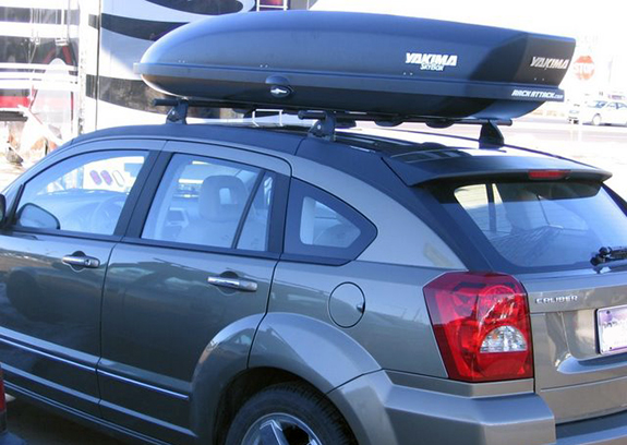 Dodge Caliber Rack Installation Photos