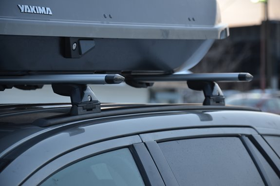 Ford Edge / Edge Sport Base Roof Rack Systems installation