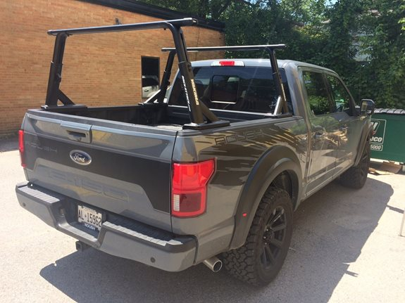 Ford F 150 Pickup 4dr SuperCrew Base Roof Rack Systems installation