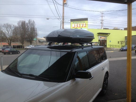 Ford Flex Rack Installation Photos