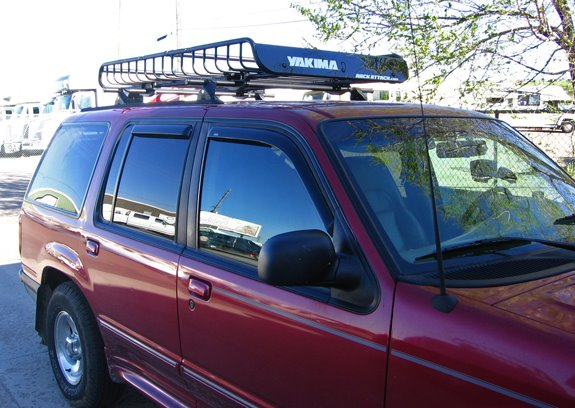 Ford explorer 4dr rack installation photos this is a custom 2001 ford explorer 4dr cargo basket roof rack system sciox Image collections