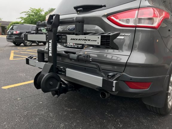 Ford Escape Bike Racks installation
