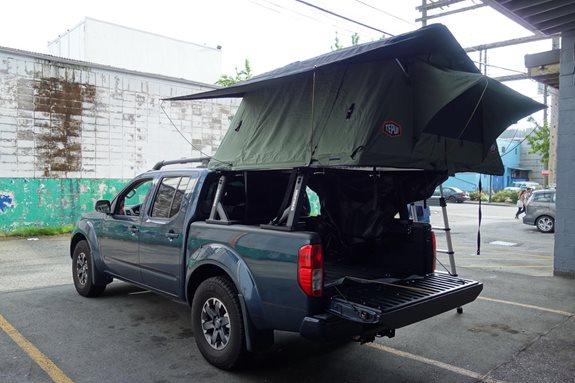 Nissan Frontier Crew Cab Rack Installation Photos