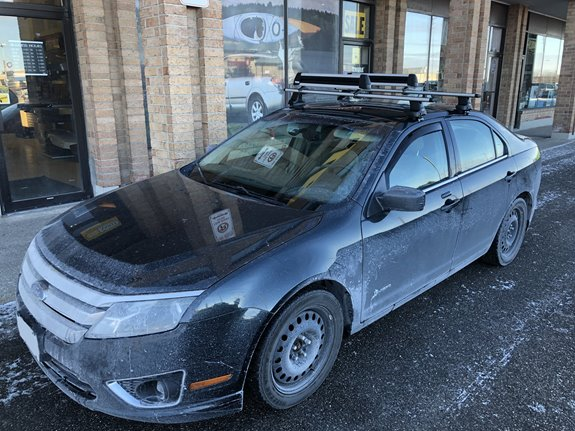 Ford Fusion 4dr Rack Installation Photos