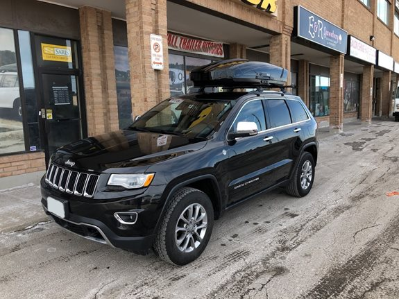 Thule Motion Xt >> Jeep Grand Cherokee Rack Installation Photos