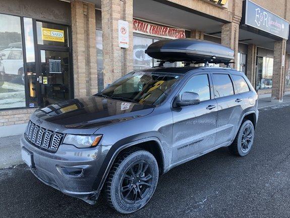 Jeep Grand Cherokee Rack Installation Photos