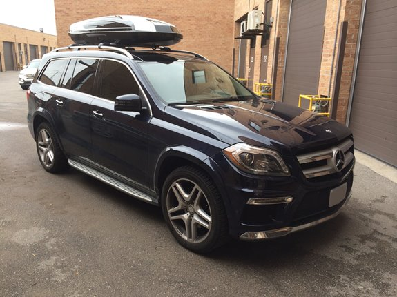 Mercedes Benz Gl Class Rack Installation Photos