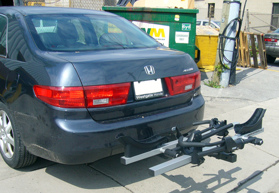 This Is A Custom 2004 Honda Accord 4dr Hitch Mount Bike Rack System