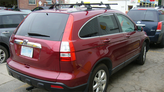 This Is A 2007 Honda Crv Roof Rack System