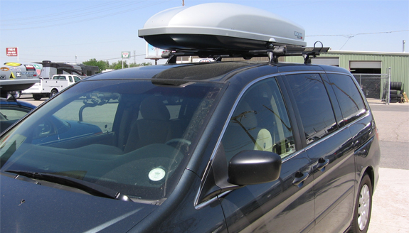 Beautiful This Is A Custom 2007 Honda Odyssey Cargo Box/cargo Carrier Roof Rack System