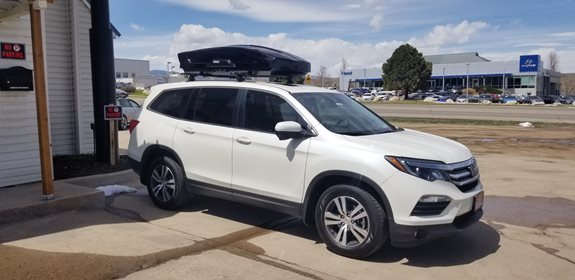 Honda Pilot Cargo & Luggage Racks installation