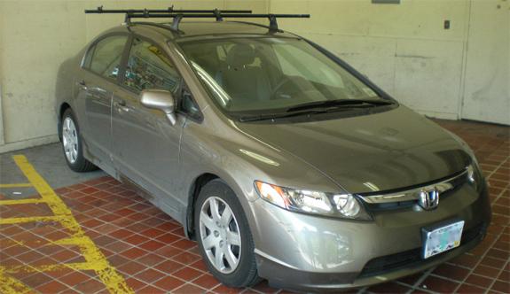 2006 Honda Civic Roof Rack Gallery