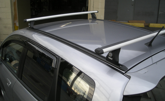 Honda Jazz Roof Rack Fitting Instructions