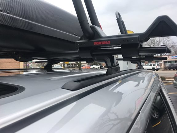 Honda Pilot Kayak Racks installation
