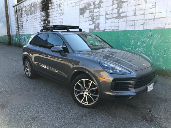 Porsche Cayenne Base Roof Rack Systems installation