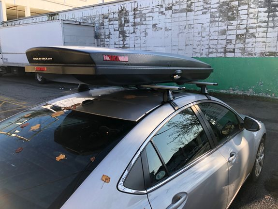 Mazda 6 4dr Cargo & Luggage Racks installation