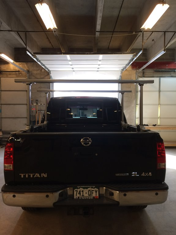 Nissan Titan Crew Cab Base Roof Rack Systems installation
