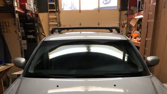 Dodge Magnum Base Roof Rack Systems installation