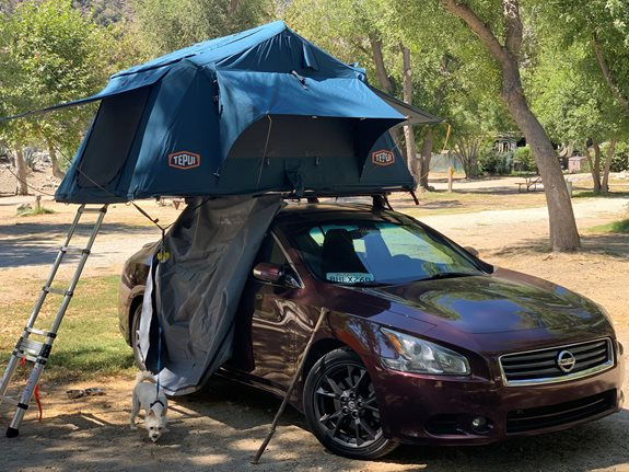 Nissan Maxima 4dr Base Roof Rack Systems installation