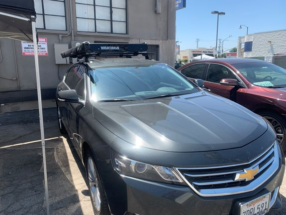 Chevrolet Impala 4dr Base Roof Rack Systems installation