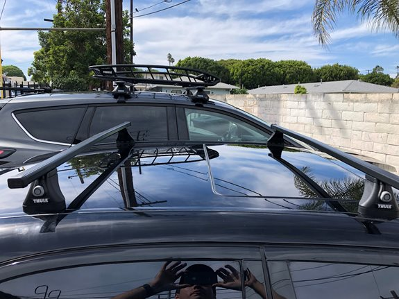 Mercedes Benz 300 Base Roof Rack Systems installation