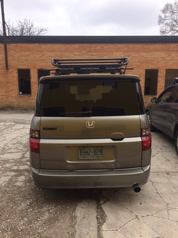 Honda Element Base Roof Rack Systems installation
