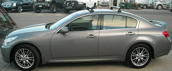 Infiniti G35 Sedan Rack Installation Photos
