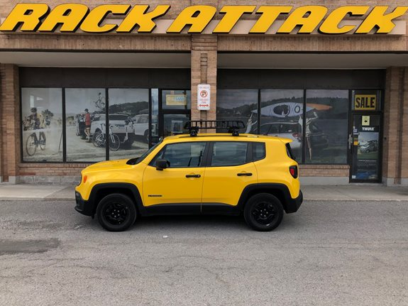 Jeep Renegade Cargo & Luggage Racks installation