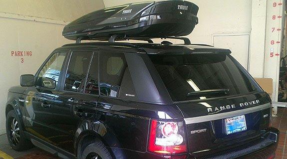Land Rover Range Rover Rack Installation Photos