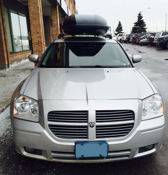 Dodge Magnum Cargo & Luggage Racks installation