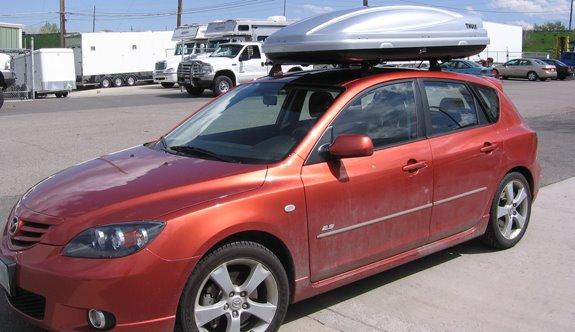 Mazda 3 5dr Rack Installation Photos