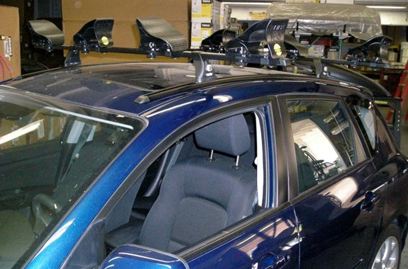 for part today a aeroblade roof we review etrailer on thule fit test is com re number mazda of rack the vm our crossbars doing edge
