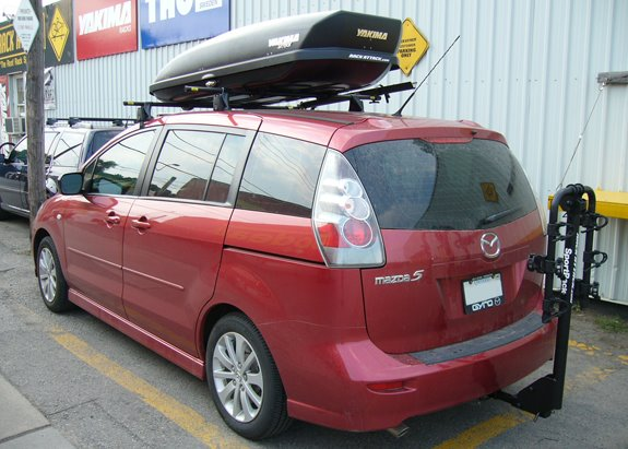 Mazda 5 Rack Installation Photos