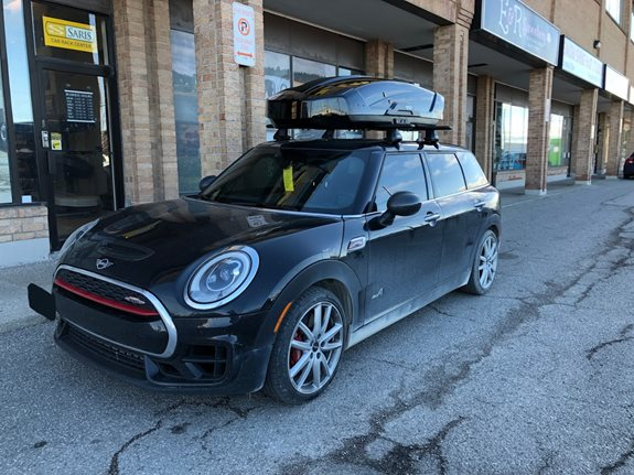 Mini Clubman 4dr Cargo & Luggage Racks installation