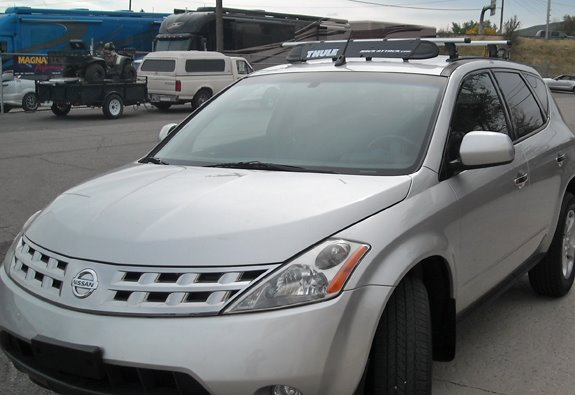High Quality This Is A Custom 2006 Nissan Murano Roof Rack System.