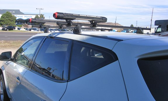 This Is A Custom 2007 Nissan Murano Ski U0026 Snowboard Roof Rack System.