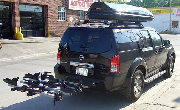 Nissan Pathfinder 4dr Rack Installation Photos