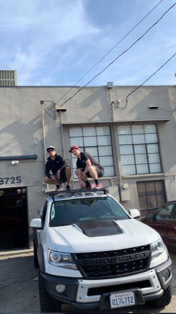 Yakima Roof Rack System >> Chevrolet Colorado 4DR Crew Cab Rack Installation Photos