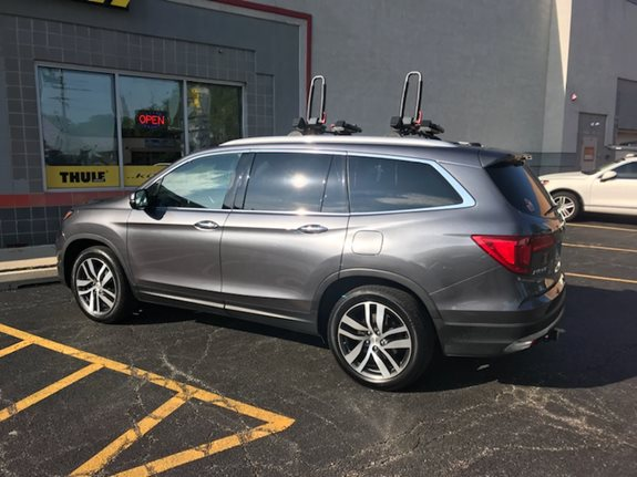 Honda Pilot Water Sport Racks installation