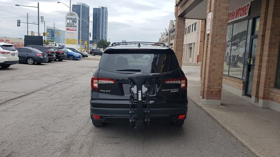 Honda Pilot Bike Racks installation