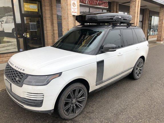 Thule Motion Xt >> Land Rover Range Rover Rack Installation Photos