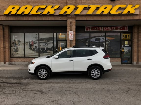Nissan Rogue Base Roof Rack Systems installation