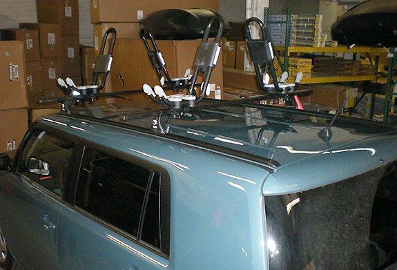 Paddle Board Car Racks >> Scion xB Rack Installation Photos