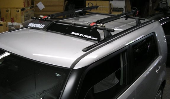Scion Xb Rack Installation Photos