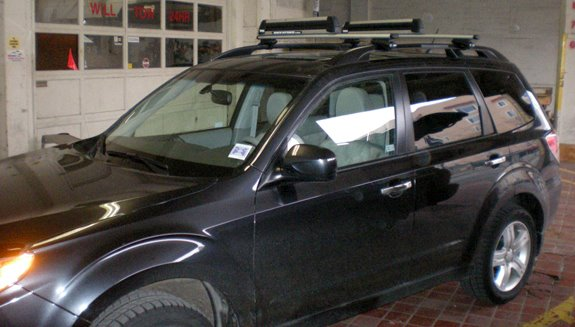 Captivating This Is A Custom 2009 Subaru Forester Ski U0026 Snowboard Roof Rack System.
