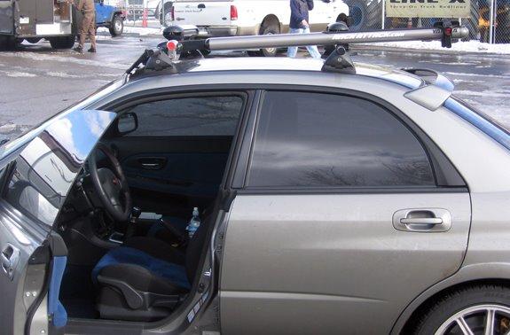 Subaru Impreza Rack Installation Photos
