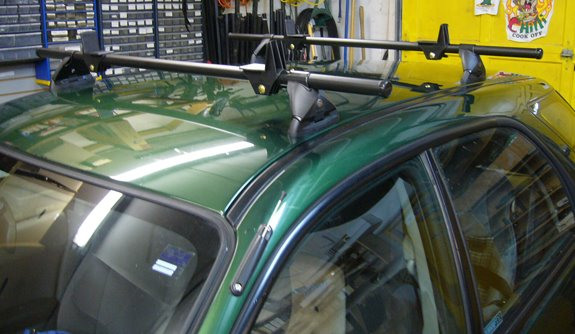 Subaru Impreza 5dr Rack Installation Photos