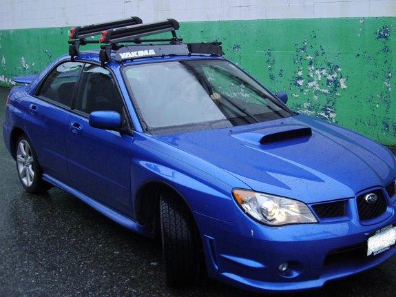 Subaru Impreza 4dr Rack Installation Photos